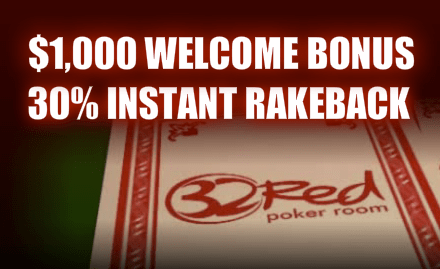 32Red Casino Bonus