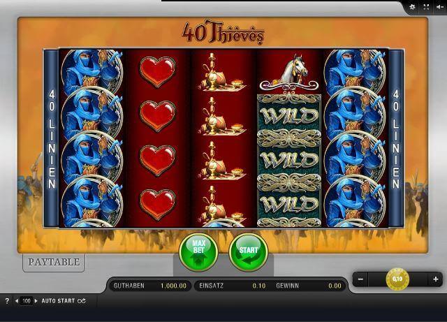 40 thieves spielen