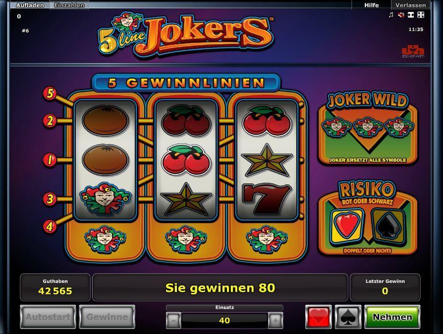 5 line jokers