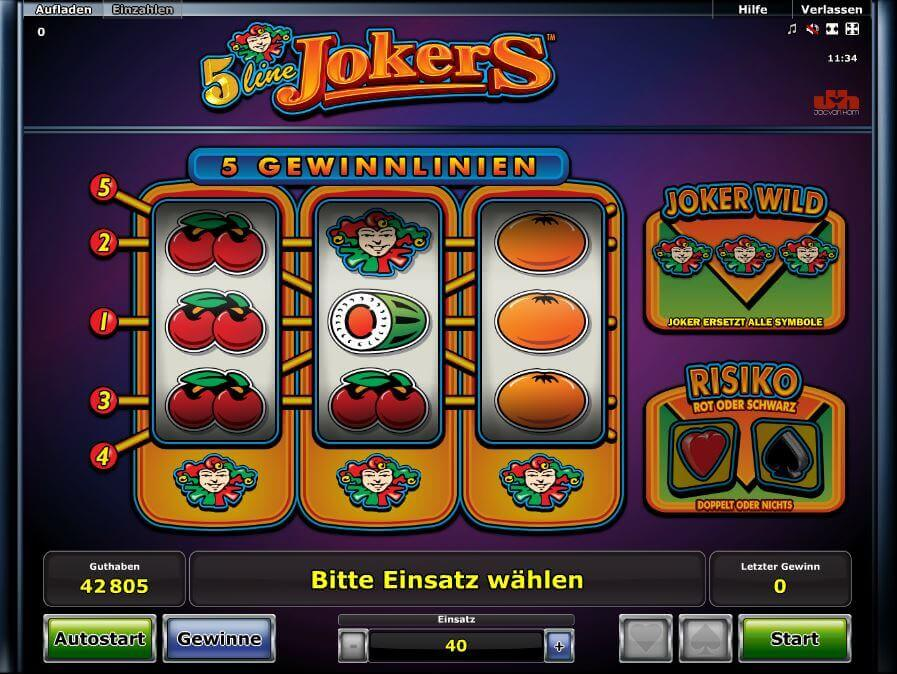 casino spielen online joker online