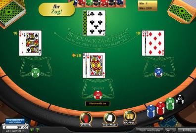 Blackjack im 888 Casino