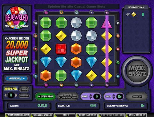 Bejeweled im 888casino