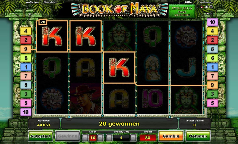 casino bet online maya symbole