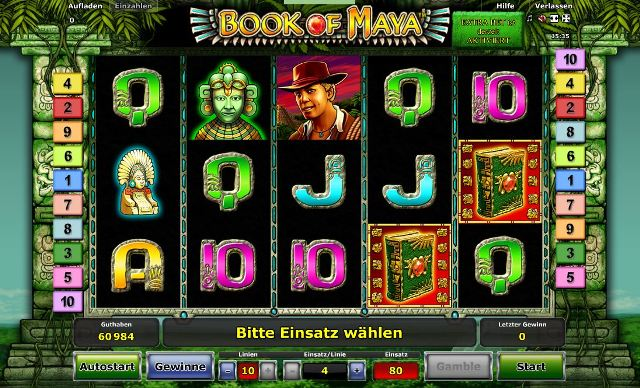 start online casino buch of ra