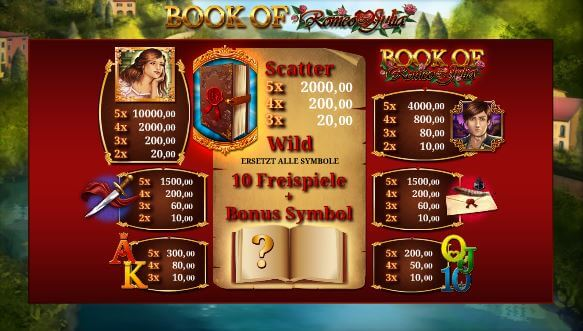 Book of Romeo and Julia online spielen