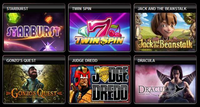 Diamond7 Casino Spiele
