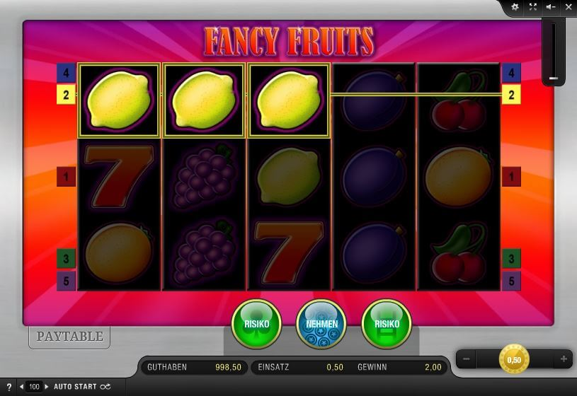 Fancy Fruits Spiel