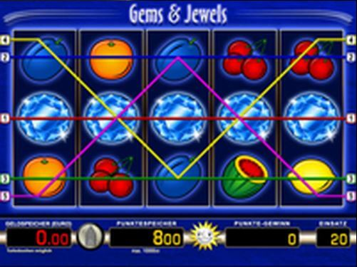 Gems and Jewels online spielen