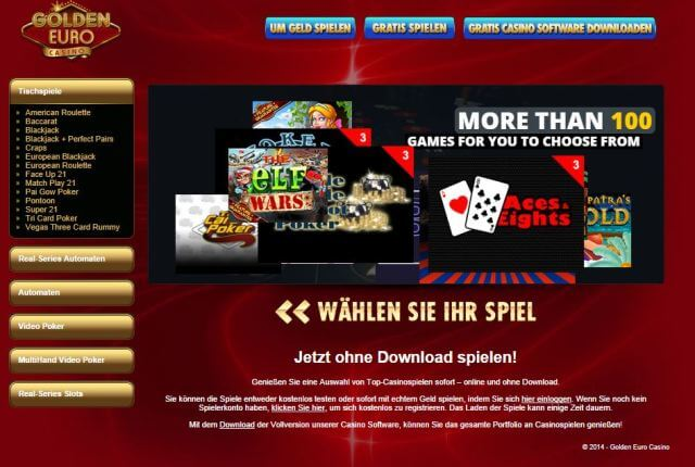 golden euro casino coupon