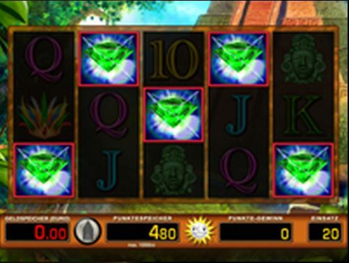 Green Diamond online spielen