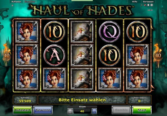 haul of hades spielen