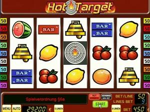 sizzling hot target online