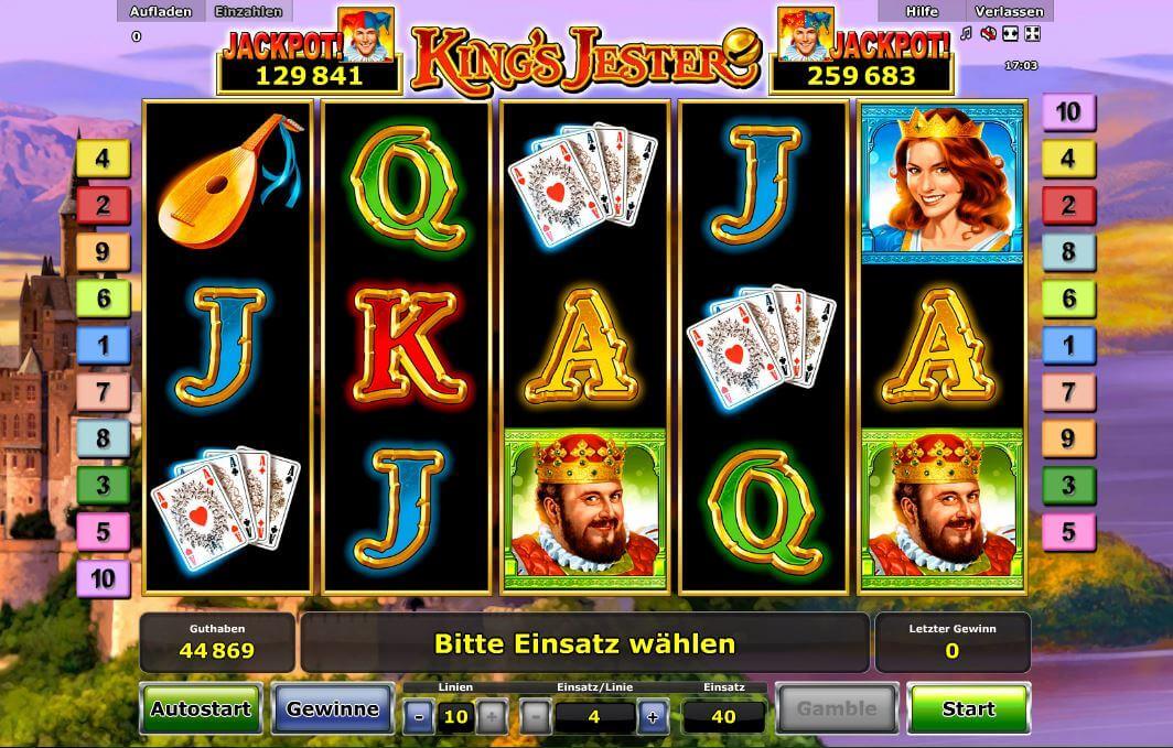 kings jester spielen