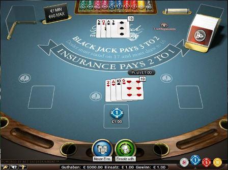 Gewinnen Geld spielen blackjack