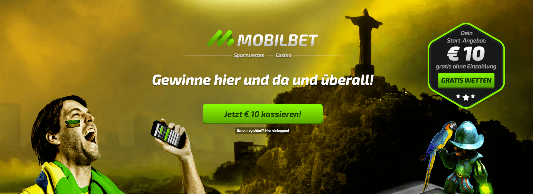 mobilbet bonuscode
