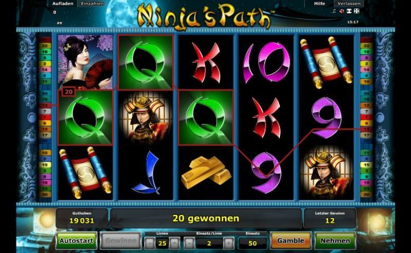 ninjas path spielen