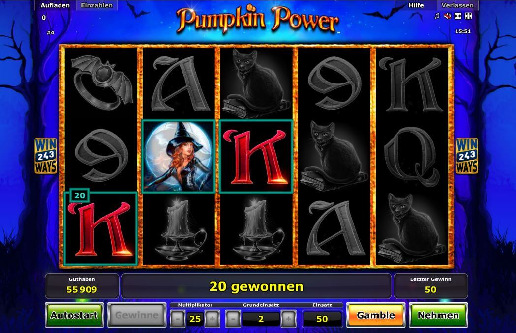 Pumpkin Power online spielen