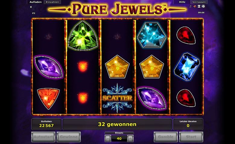 pure jewels spielen