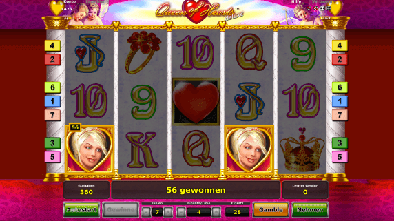 casino free online queen of hearts online spielen