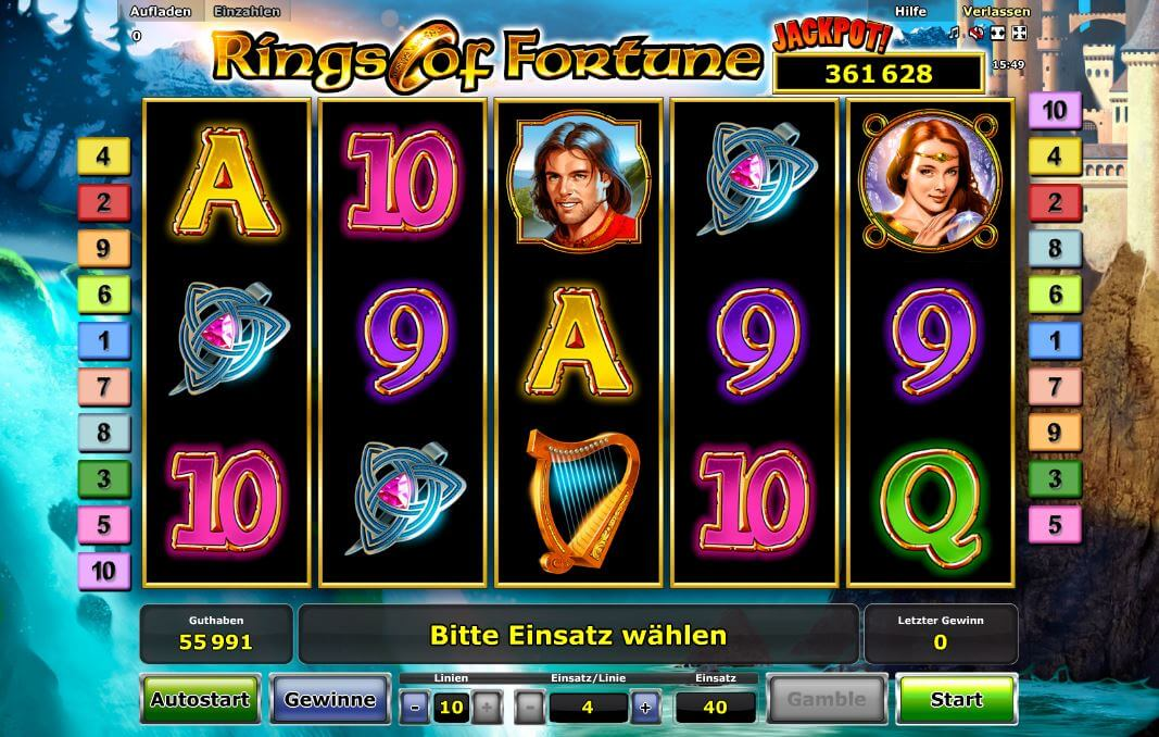 rings of fortune spielen