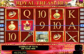 Royal Treasures bei StarGames spielen
