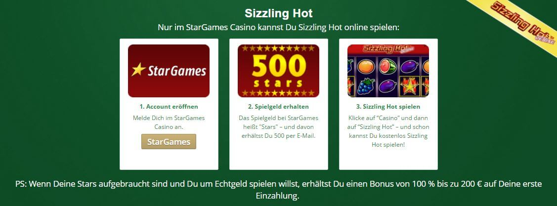 sizzling hot casino