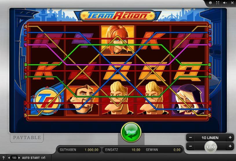 Online Team Spiele