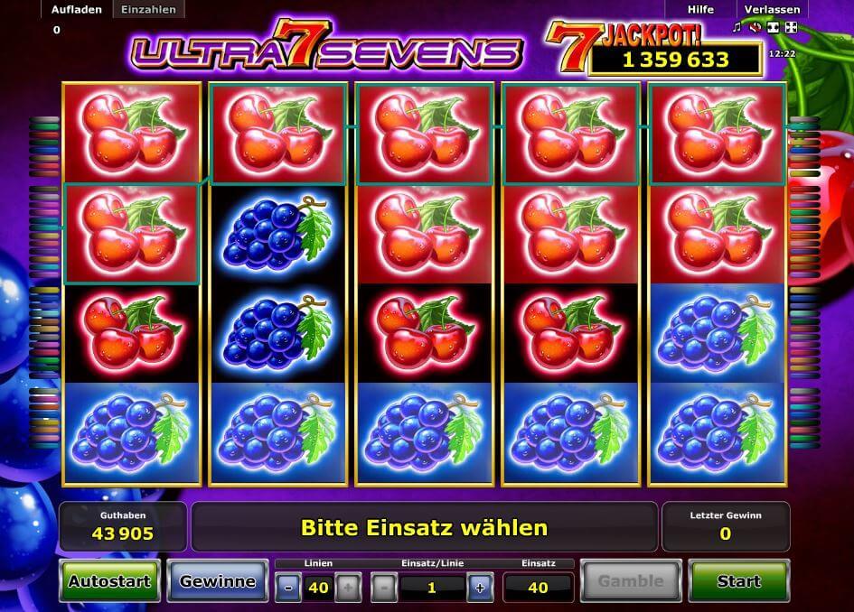 online vegas casino sevens spielen