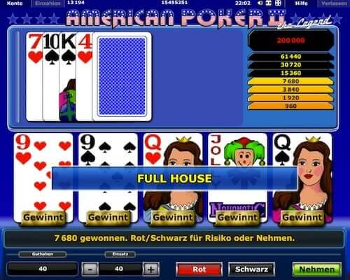 mansion online casino american poker 2