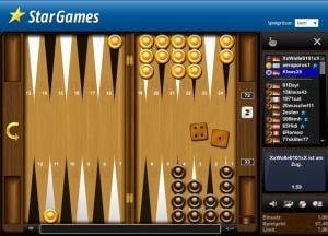 Backgammon spielen bei StarGames