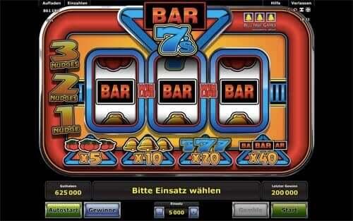 Sevens and Bars Spielen Kostenlos online
