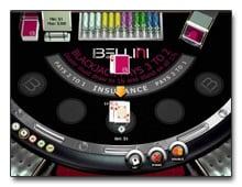 Blackjack beim Casino Bellini spielen