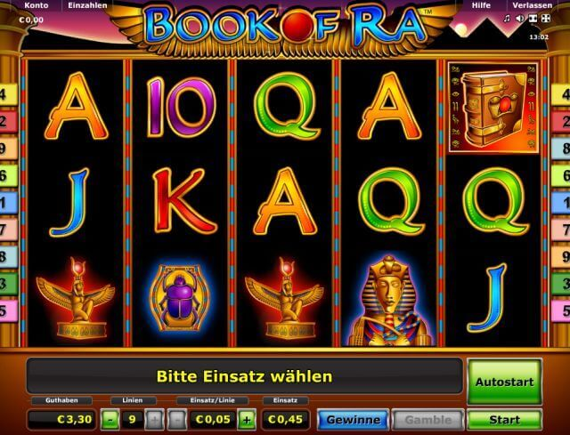bestes online casino book or ra