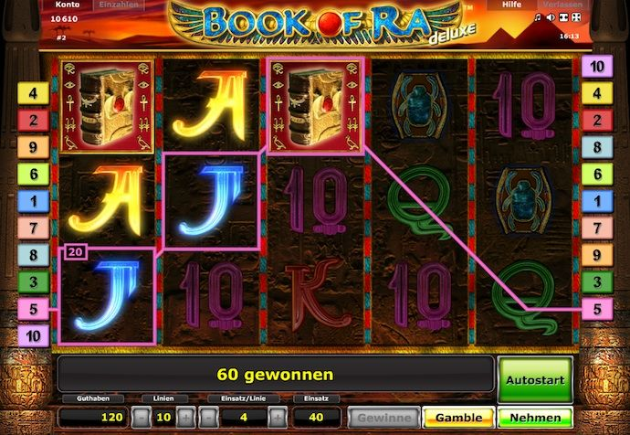 Book of Ra bei StarGames spielen