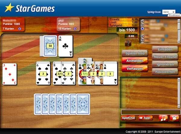 Canasta Online Spielen