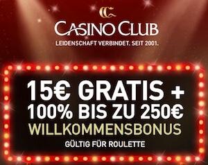 Roulette Bonus ohne Einzahlung