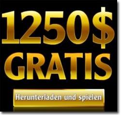 1250 € im Casino Action