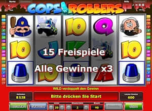 online casino bonus ohne einzahlung ohne download cops and robbers slot