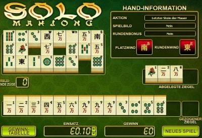 Mahjongg im Crown Europe Casino