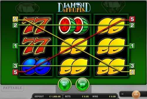 Diamond and Fruits gratis spielen | Online-Slot.de