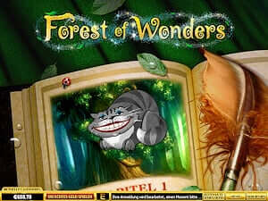 Playtech Forest of Wonders online