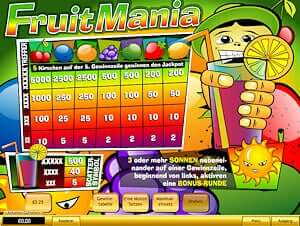 Playtech Fruit Mania