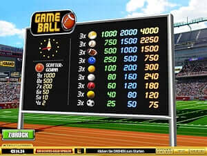 Game Ball online spielen