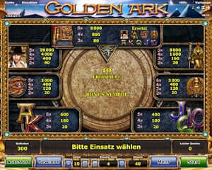 golden ark kostenlos spielen