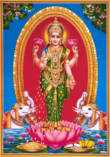 Glücksgöttin Lakshmi