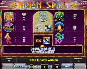 online casino mit startguthaben indian spirit