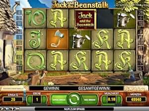 jack and the beanstalk spielen
