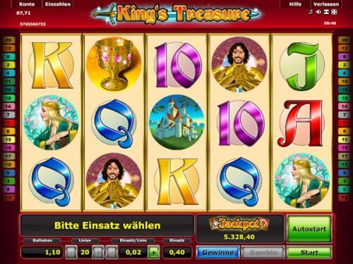 start online casino spielen bei king com