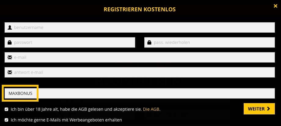 lvbet anmeldecode