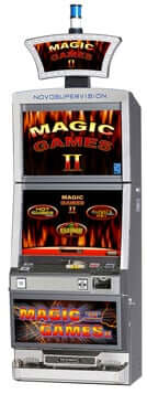 magic games iii sizzling hot